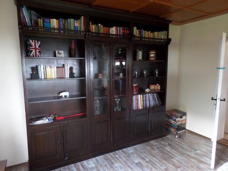 Ferienhaus lakeview m llrose im sch nen schlaubetal - Bibliothek wohnzimmer ...